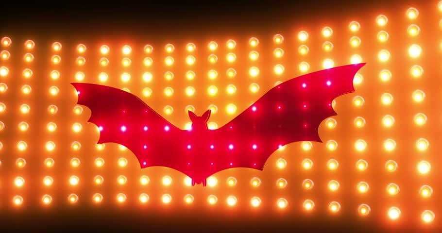 Header of red bat