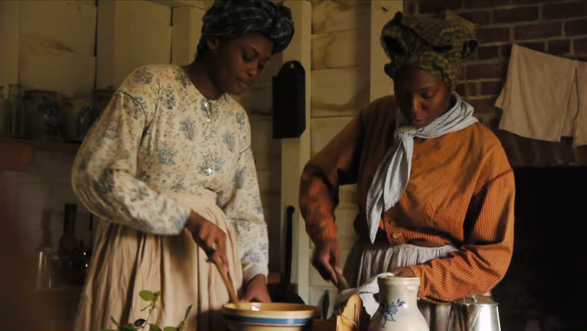 black women slaves cooking and serving for the masters and the history of the mammy caricature The third and final overarching stereotype of african american women is mammy masters' treated their eager to help slave to serve the mammy caricature has.