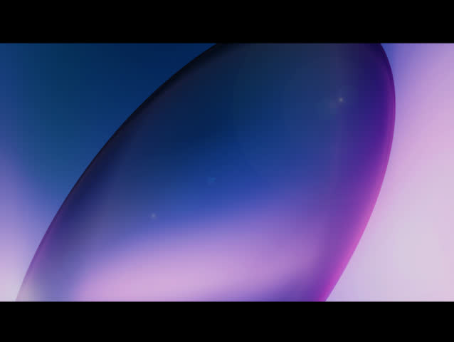 Blue and Purple glass sphere reflects the light around it as it rotates. | Shutterstock HD Video #120331