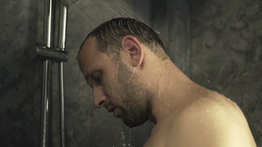 Men Shower Video