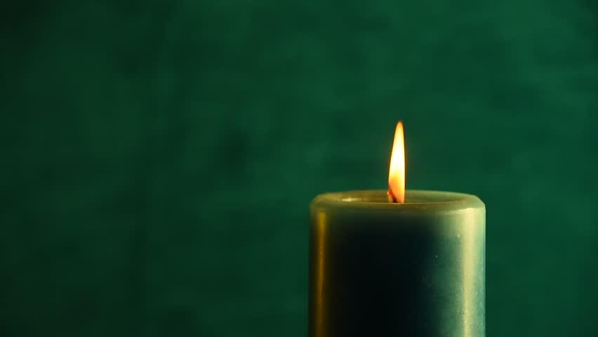 Encender una vela verde