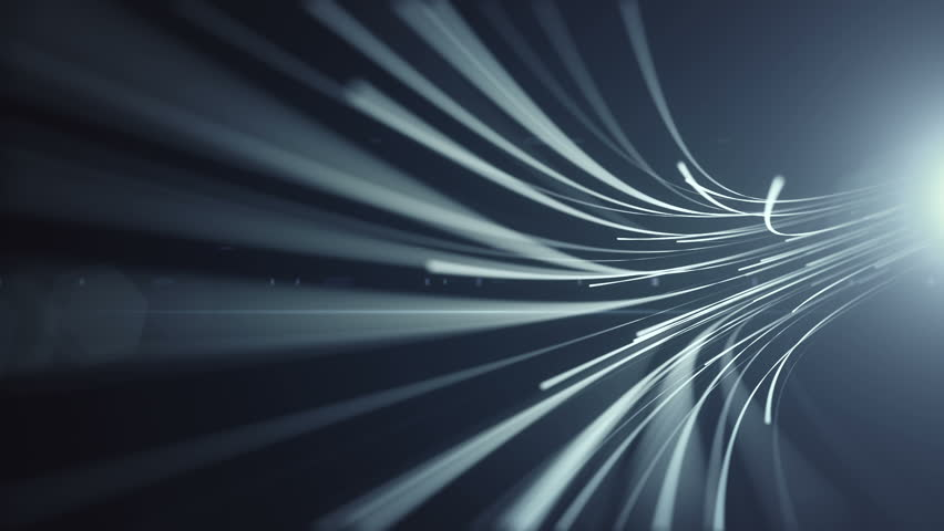 Abstract Background With Animation Moving Of Lines For