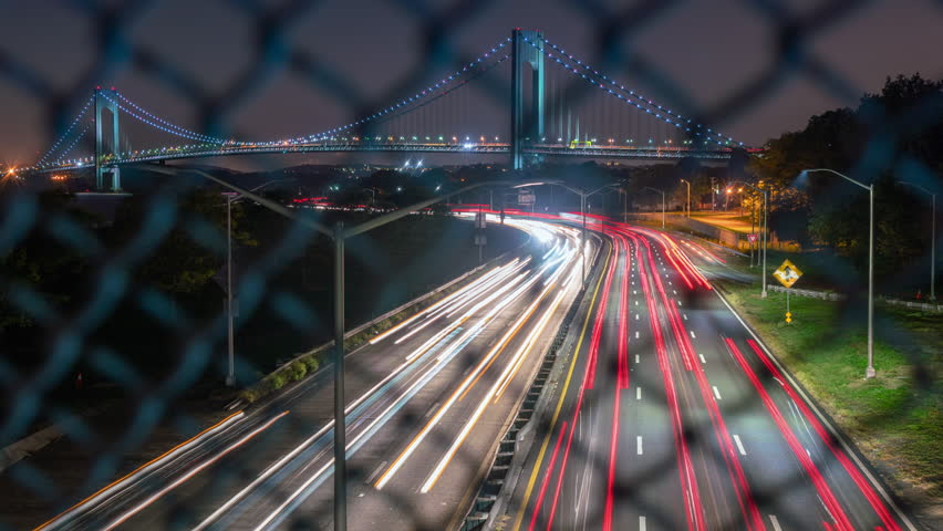 Motion Controlled Time Lapse Traffic Stock Footage Video (100%  Royalty-free) 12195671 | Shutterstock