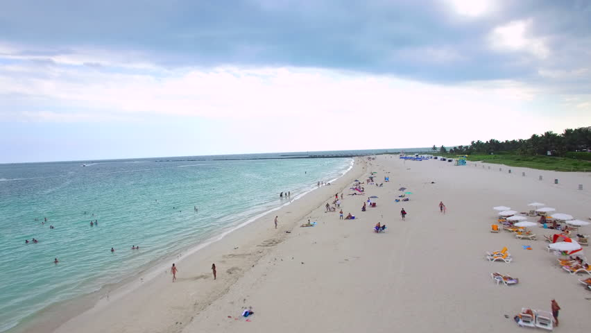 Miami Beach Scene Aerial Video Stock Footage Video (100% Royalty-free)  12260441 | Shutterstock