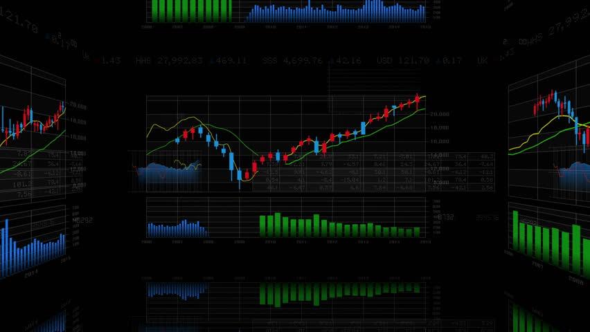 Business Data Graph. | Shutterstock HD Video #12320951