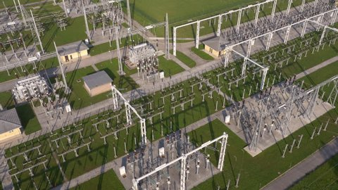 Aerial - Electrical substation