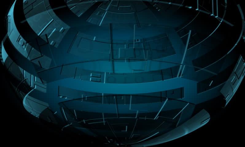 Machine globe rotating | Shutterstock HD Video #123451