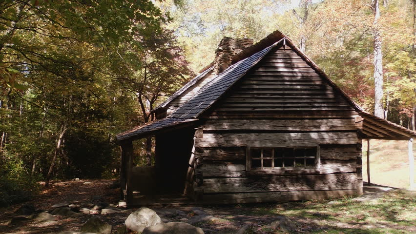 Rustic Cabin In Early Autumn Stock Footage Video 100 Royalty Free 12371711 Shutterstock
