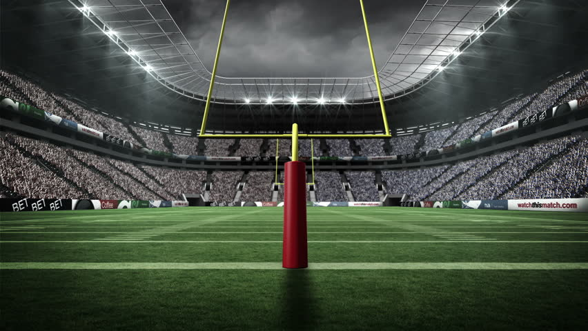 View of an american football stock footage video 100 royalty free 12380531 shutterstock - Soccer stadium hd ...