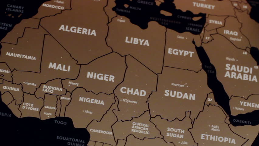 africa map hd images