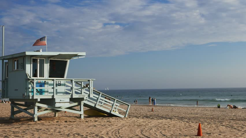Liuard Tower At Venice Beach Stock Footage Video 100 Royalty Free 12485231 Shutterstock