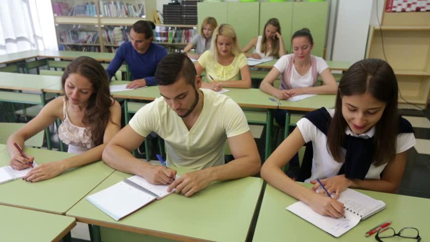 Adult discipline student