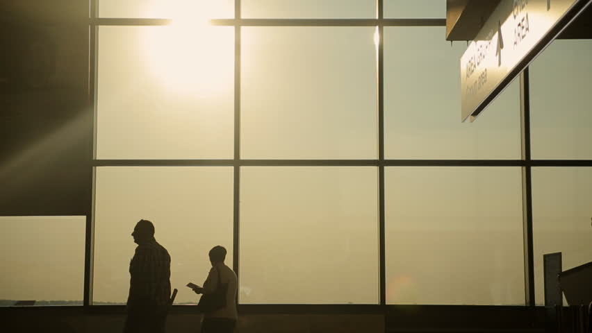 Waiting room at the airport Malpensa in Milan | Shutterstock HD Video #12587681