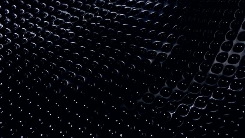 metallic grid motion background cool blue light last