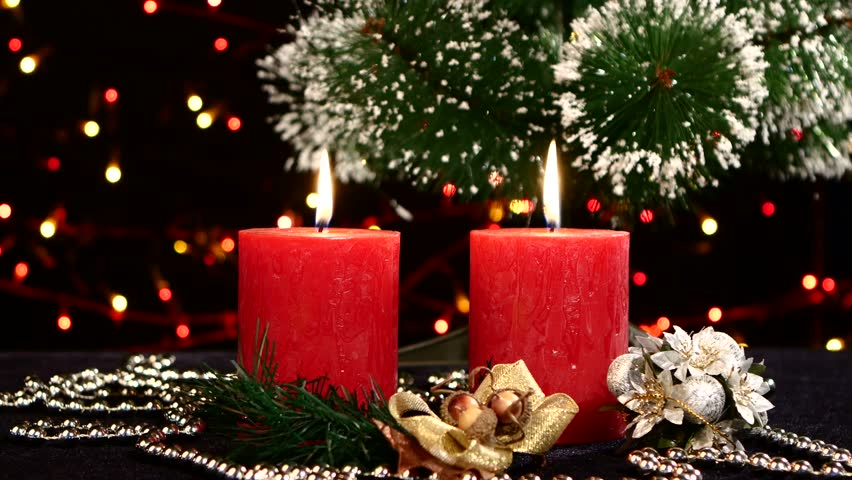 Nice Christmas Decorations christmas winter video background decoration. xmas video for