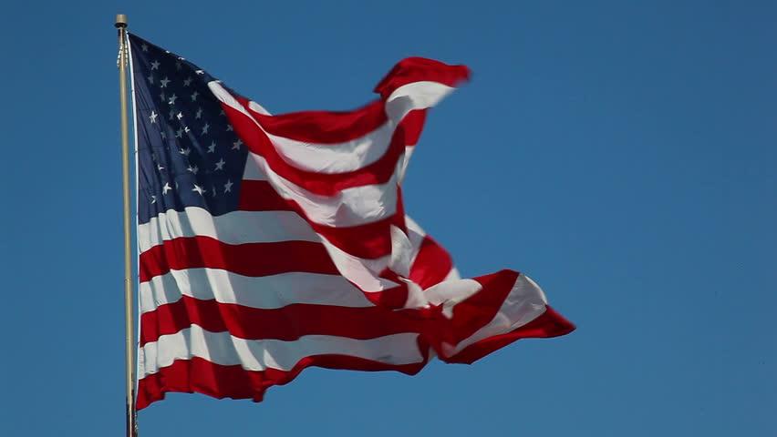 HD of American flag