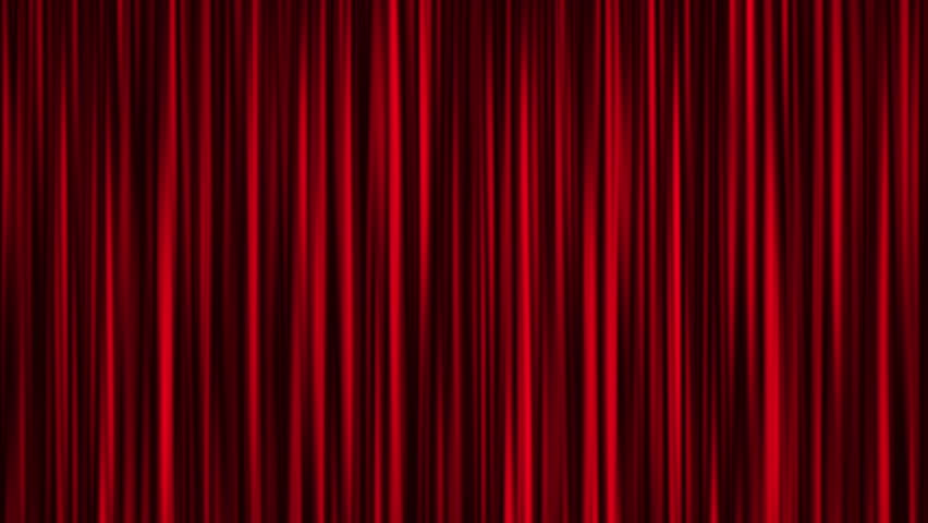 Red curtain animation background | Shutterstock HD Video #12759401