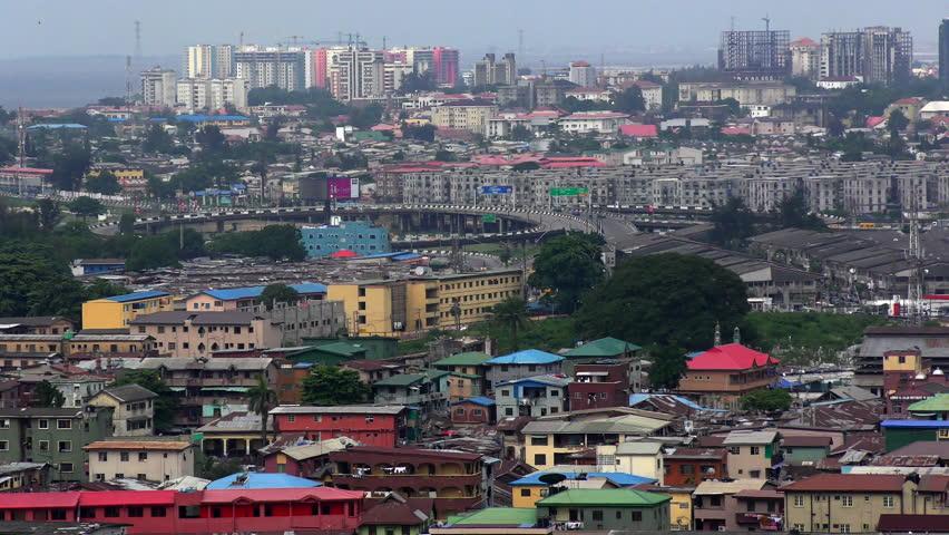 General view of Lagos, Nigeria.