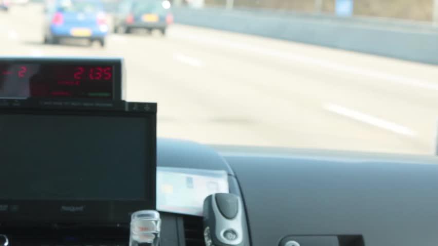 Header of taximeter