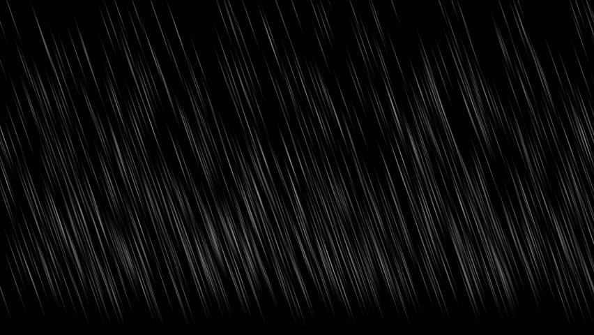 4k Falling rain at night background,rainy storm heavy rain weather,water drop backdrop. 1567_4k