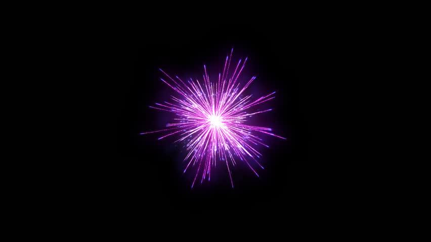 Fireworks holiday background, Alpha PNG