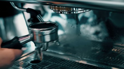 Many Coffee Closeup Footage Montage with Audio and restaurant Ambiance