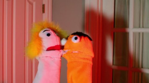 Puppets mating