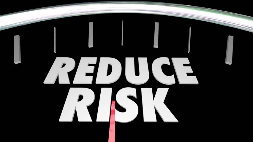 Reduce Manage Identify Assess Risk Speedometer | Shutterstock HD Video #13062590