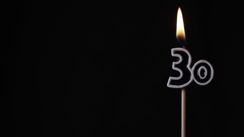black birthday background
