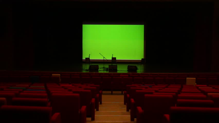 Green cinema screen   Shutterstock HD Video #13166591