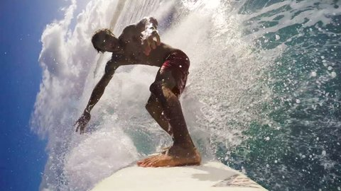 POV Surfing (Slow Motion)