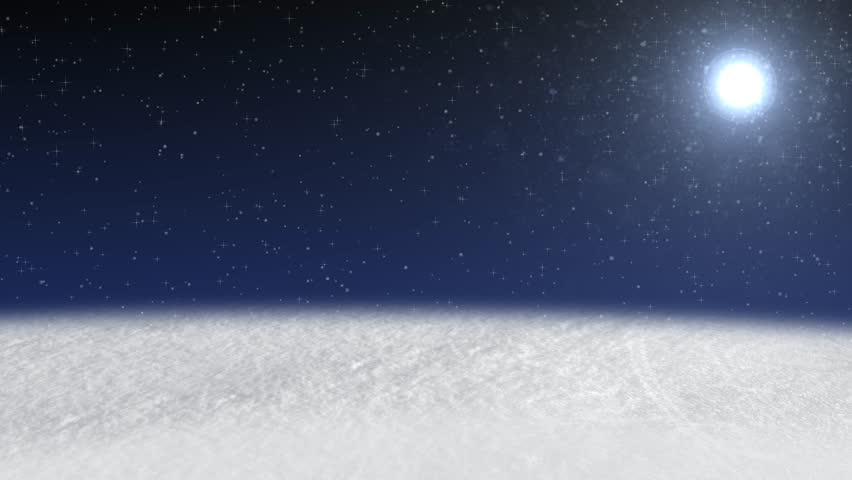christmas animated snow scene background hd loop