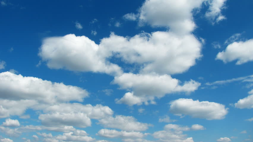 Cloudy Sky Stock Video Footage
