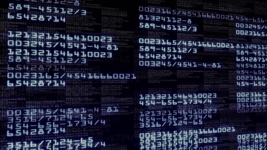 Numbers Technology 5, LOOP - HD1080
