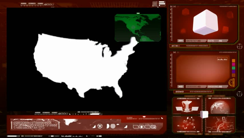 USA scanned by software   Shutterstock HD Video #13310750