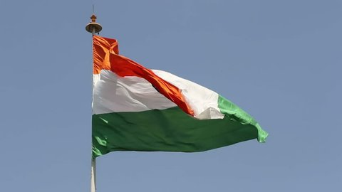 This Tiranga, the national flag of India hoisted at Central Park, Connaught Place, New Delhi is one of the largest national flags of India. On 7th March 2014, the flag was hoisted for the first time.