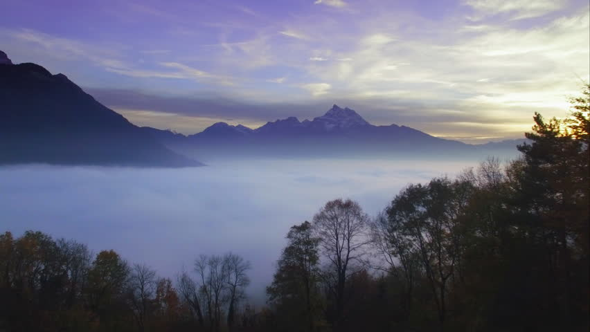 4k Beautiful Scenery - Flying Stock Footage Video (100% ...