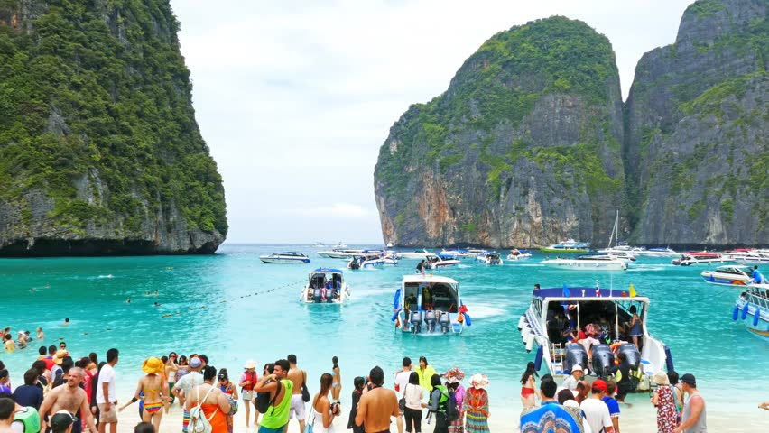 Thailand Koh Phi Maya Stock Footage Video 100 Royalty Free 13481621 Shutterstock
