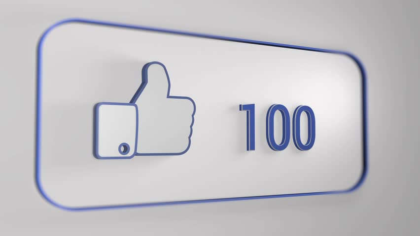 Facebook Likes 3d, Facebook Like Stock Footage Video (100% Royalty-free)  13513271 | Shutterstock