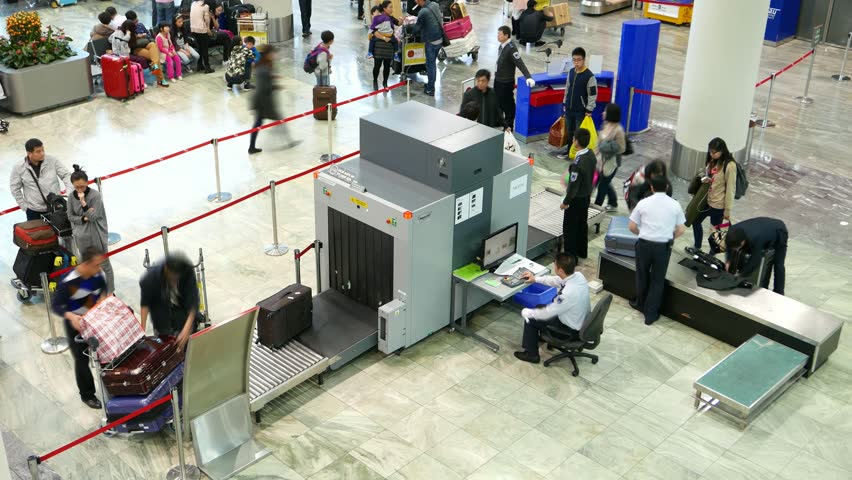 how to avoid detection in airport security x ray