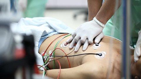 Cardiopulmonary Resuscitation (CPR) to  patient.
