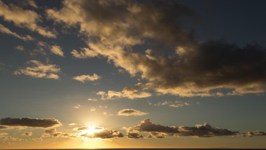 Clouds Time Lapse Sunset/Sunrise