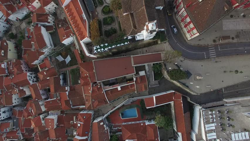 Top View of Alfama, Lisbon, Portugal | Shutterstock HD Video #13676501