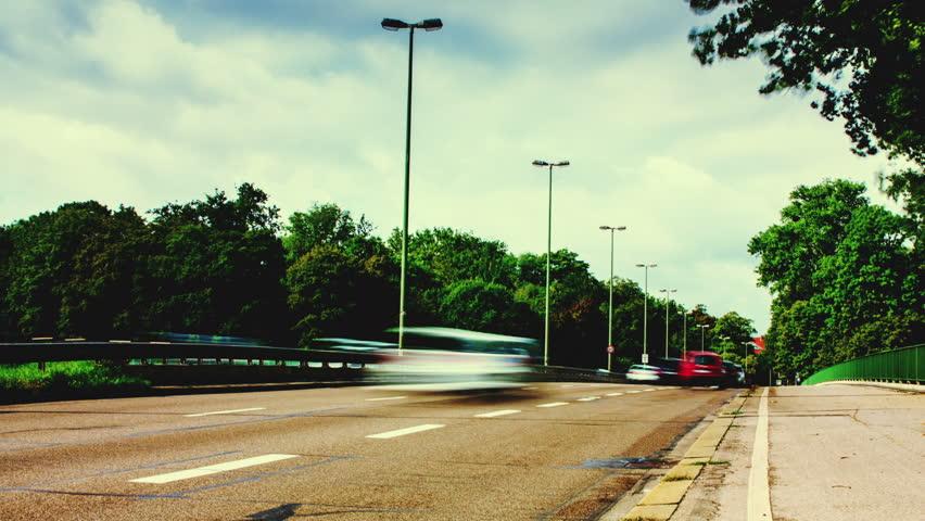 Munich Traffic Time lapse | Shutterstock HD Video #13707821