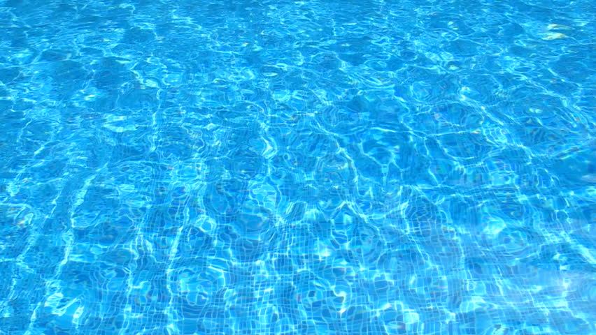 Pool Water Hd background of rippled pattern of clean water in blue swimming pool