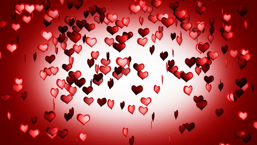 Hearts Flying Animation Valentine Day Stok Video 100 Telifsiz 1380361 Shutterstock