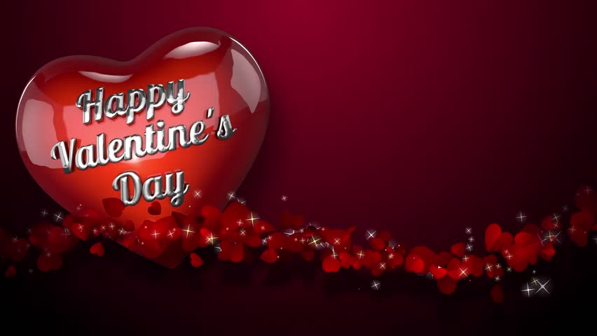 hearts background animation created for broadcast commercials presentations etc you can use this - Valentines Day Videos