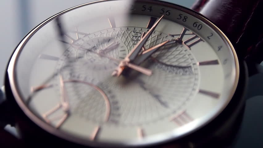 Compass orientation left panning on the world map stock footage san marino san marino december 12 2015 paul martin retrograde watch clock gumiabroncs Choice Image