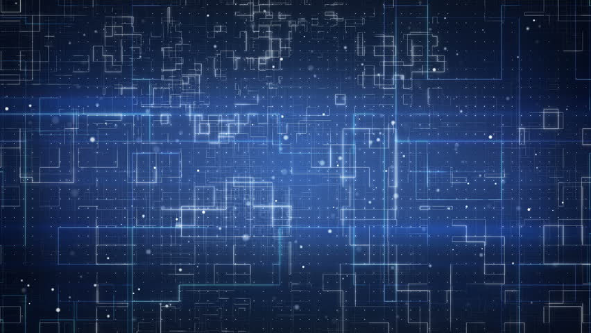 Fly through schematic architectural blueprints rotating loop technology pattern seamless loop abstract background 4k 4096x2304 4k stock footage malvernweather Images