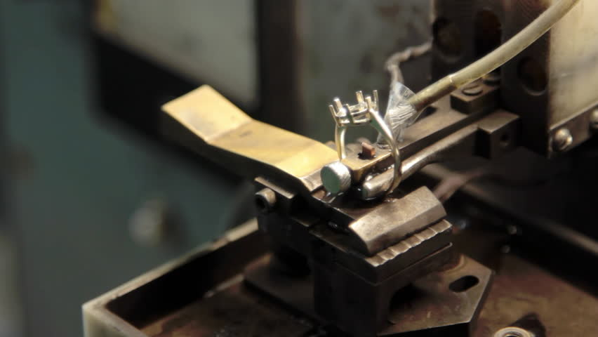 Electrical Methods Marking Gold Jewelry Production And